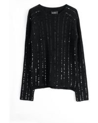 Zadig & Voltaire Sweater Malo Pointelle C - Lyst