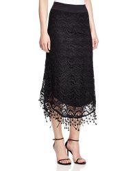 XCVI - Ava Crochet Midi Skirt - Lyst