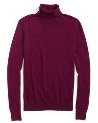 Tommy Hilfiger Slim Turtleneck Sweater - Lyst
