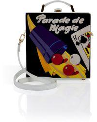 Olympia Le-Tan Handcrafted Parade De Magie Satchel - Lyst