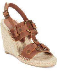 Denim & Supply Ralph Lauren - Izabel Platform Wedge Sandals - Lyst