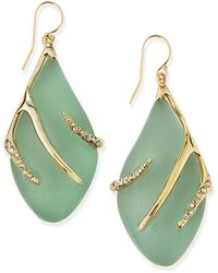 Alexis Bittar Vert Deau Lucite Sabre Earrings - Lyst