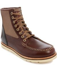 Timberland Abington Haley Cognac Leather Boots - Lyst