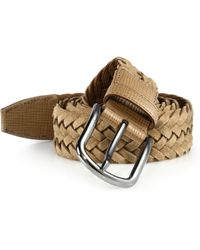 Tod's | Braided Leather Belt | Lyst