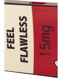 "Yazbukey | ""flawless Pill"" Plexiglass Mini Clutch | Lyst"