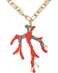 Aurelie Bidermann Capri Long Necklace - Lyst