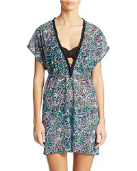 Gottex Belle Curve Cover Up Dress - Lyst