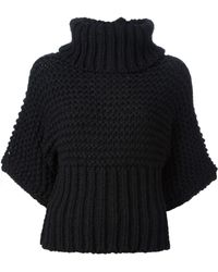 Acne Studios Ginette Chunky Knit Sweater - Lyst