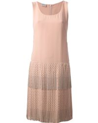 Philosophy di Alberta Ferretti Studded Skirt Dress - Lyst
