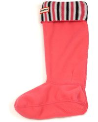 Hunter | Original Tall Deck Chair Stripe Boot Socks | Lyst
