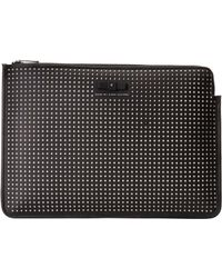 Marc By Marc Jacobs Perforated Mesh 13 Zip Cutout Case black - Lyst