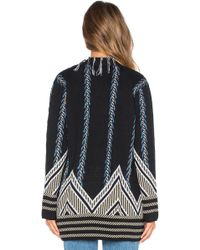 Gypsy 05 - Graphic Intarsia Cardigan - Lyst
