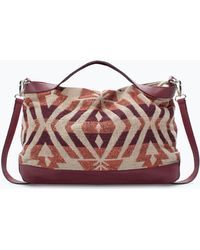 Zara Ethnic Print Messenger Bag - Lyst