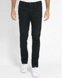 DIESEL   Black Buster Slim-fit Jeans   Lyst