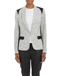 Rag & Bone Black Howard Blazer - Lyst