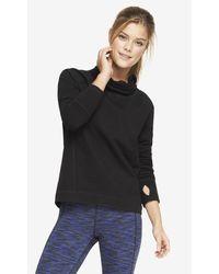 Express Exp Core Funnel Neck Sweatshirt - Lyst
