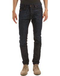 Diesel Tepphar Natural Blue Slim Fit Jeans blue - Lyst