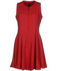 Gareth Pugh Short Dress red - Lyst