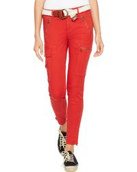 Polo Ralph Lauren Stretch Skinny Cargo Pant - Lyst
