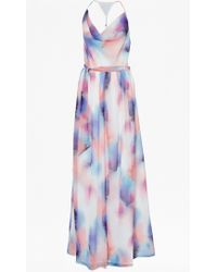 French Connection Soft Spray Maxi Dress - Lyst