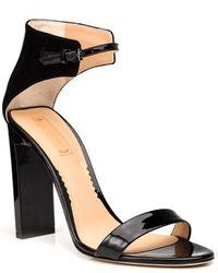 Reed Krakoff Patent Sandal - Lyst