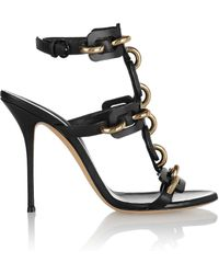 Casadei Leather Sandals - Lyst