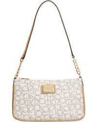 Calvin Klein Hudson Monogram Demi Bag - Lyst