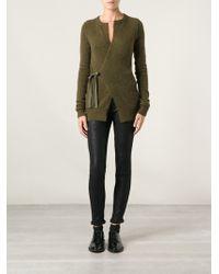 Etoile Isabel Marant Wrap Style Front Cardigan - Lyst