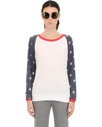 Alternative Apparel Light Cotton Blend Sweatshirt - Lyst