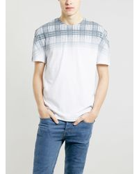 Lac Check Pement T-shirt - Lyst