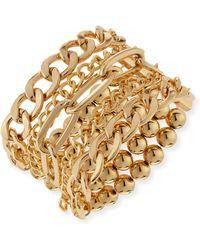 R J Graziano Multi Row Stretch Bracelet Lyst
