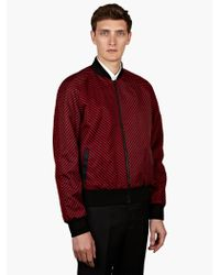 Jonathan Saunders Mens Red Marshal Jacket - Lyst