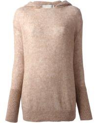 Stella McCartney Hooded Sweater - Lyst
