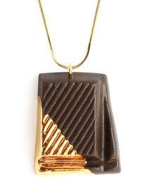 Tadam! Design - Dark Chocolate With Gold Glaze - Lyst
