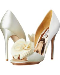 Badgley Mischka White Blossom - Lyst