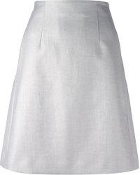 Emporio Armani A-Line Skirt - Lyst