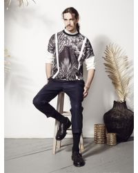 Inter-pret.us Cactus Print Scuba Shirt Made To Order black - Lyst
