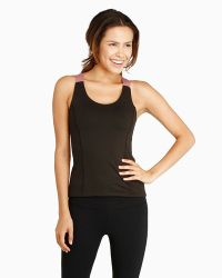 Threads 4 Thought Blossom Yoga Tank black - Lyst