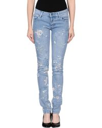 Cheap Monday Denim Pants - Lyst
