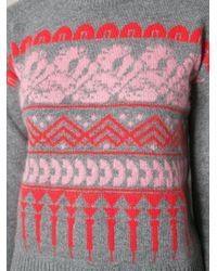 Vionnet Jacquard Sweater - Lyst