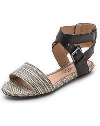 Splendid Aspyn Sandals - Black - Lyst