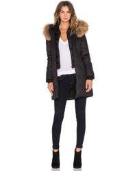 SOIA & KYO - Chrissy Fur-Trimmed Parka Jacket  - Lyst