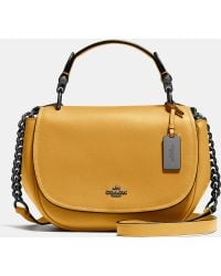 COACH | Nomad Top Handle Crossbody In Glovetanned Leather | Lyst