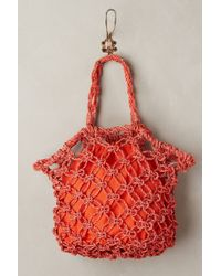 Vincent Pradier - Daisy Weave Tote - Lyst