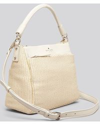 Kate Spade Crossbody Cobble Hill Straw Little Curtis - Lyst
