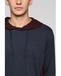 BDG - Feeder Stripe Pullover Hooded Shirt - Lyst