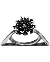 Glenda López The Lotus Triangle Ring - Lyst