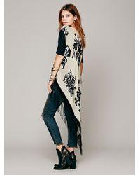 Free People Velvet Blossom Vest Kimono - Lyst