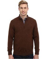 Pendleton Ls Merino 14 Zip Sweater - Lyst