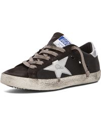 Golden Goose Deluxe Brand Superstar Low Top Canvas Sneakers - Lyst